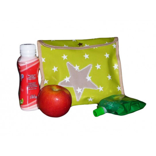 Snack pouch - GREEN CALL - (17 x 21 cm)
