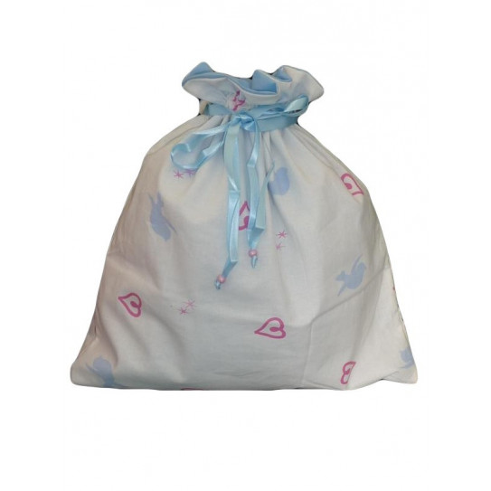 Bolsa para la ropa forrada LITTLE BIRD BLUE