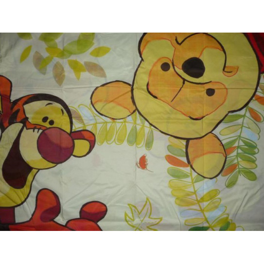 Pillowcase WINNIE THE BEAR AND TIGER