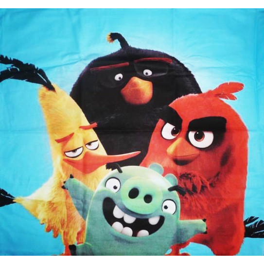 Pillowcase angry birds