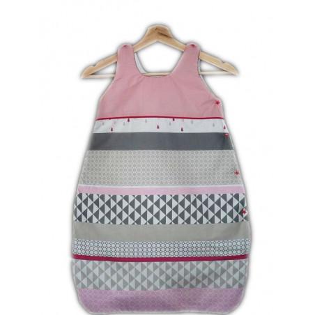 Saco de dormir - saco de dormir - ROSA métricos - (0-6 meses)