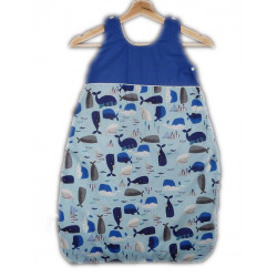 Turbulette - sleeping bag - WHALES - (0-6 months)