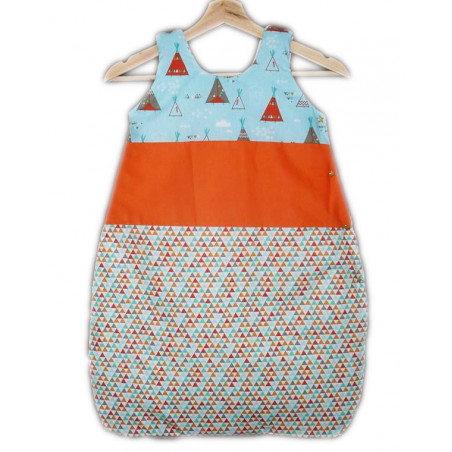 Schlafsack - Schlafsack - INDIAN TIPI - (0-6 Monate)