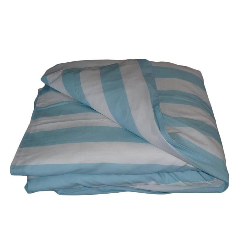 housse de couette b b blue line 100 x 140 cm. Black Bedroom Furniture Sets. Home Design Ideas