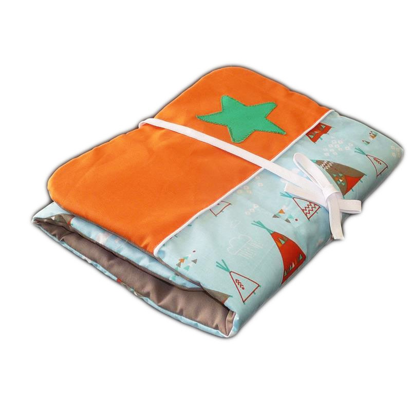 tapis langer nomade tipi indien 31 x 68 cm. Black Bedroom Furniture Sets. Home Design Ideas