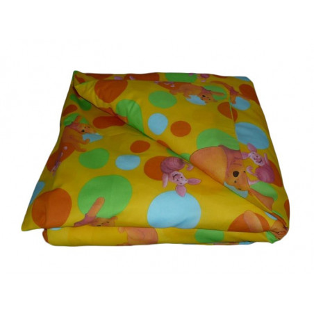 Reversible baby comforter cover WINNIE L'OURSON