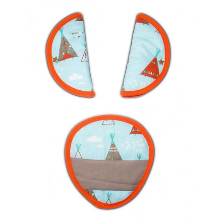 Safety straps guards - INDIAN TIPI -