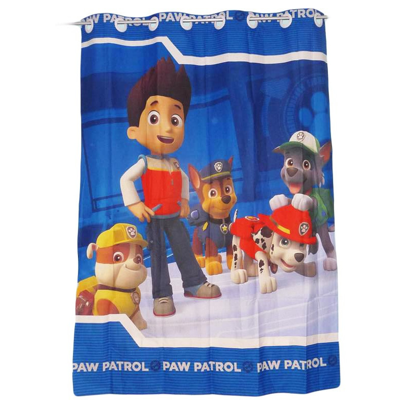 rideau enfant pat patrouille paw patrol 135 x 190 cm. Black Bedroom Furniture Sets. Home Design Ideas