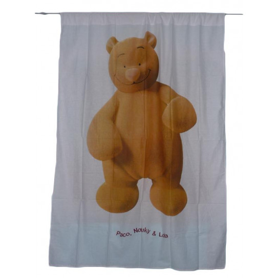 Curtain THE BEAR NOUKY (NOUKIE'S)