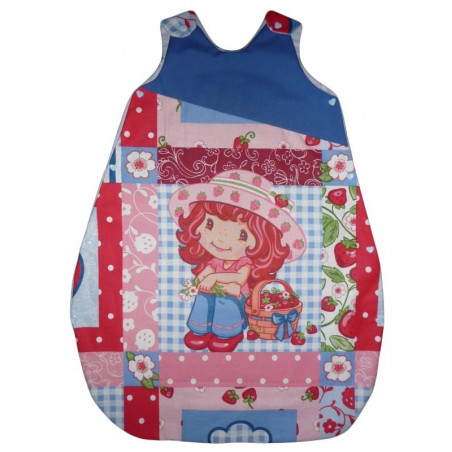 Turbulette - sleeping bag CHARLOTTE AUX FRAISES