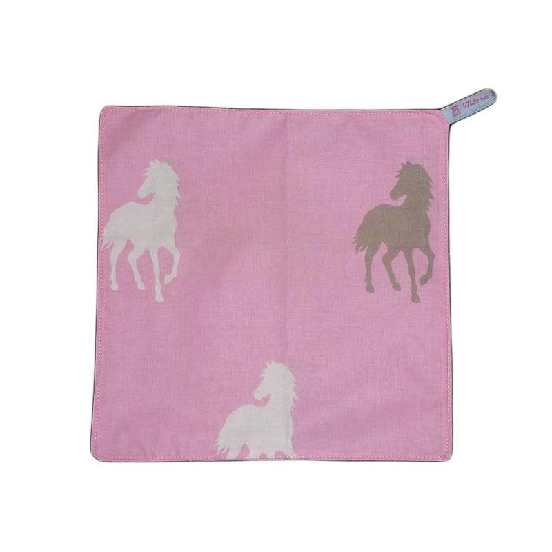 Serviette de cantine horse 29 x 29 cm - Serviette de table pour cantine ...