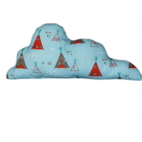 Coussin nuage TIPI INDIEN