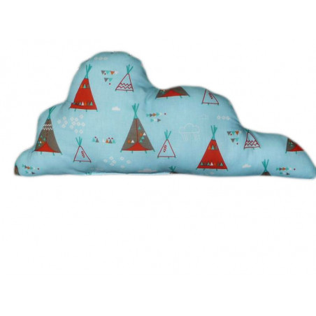 INDIAN TIPI Wolke Kissen