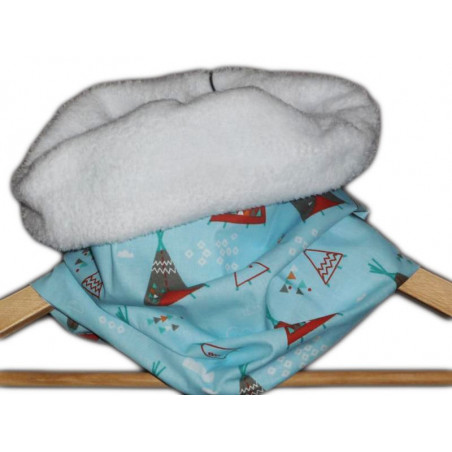 Snood / child neck TIPI INDIEN
