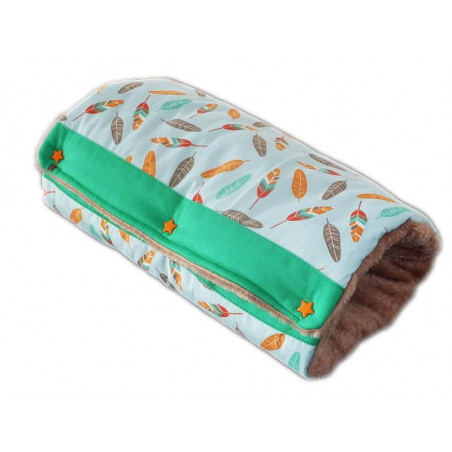 Nursing pillow with arms SMALL FEATHERS