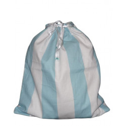 BLUE LINE lined laundry bag
