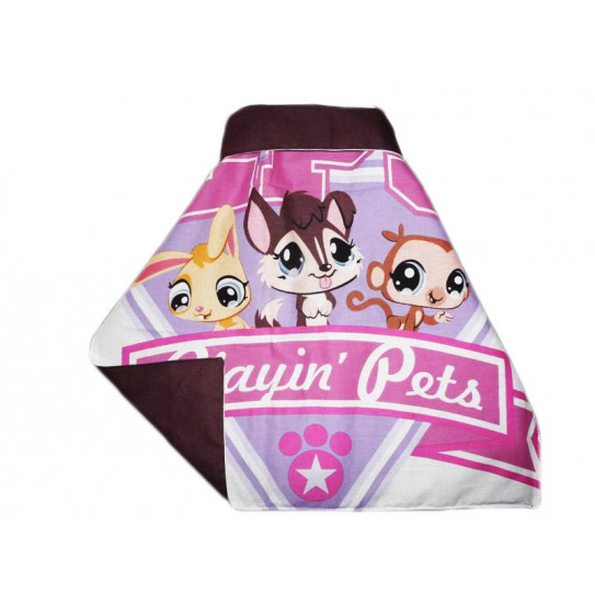 Serviette de cantine XXL à pression LITTLEST PET SHOP