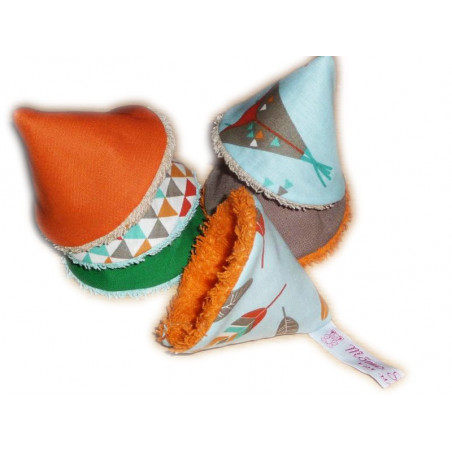 6 Peeing Tip / STOP pee cones - INDIAN TIPI -