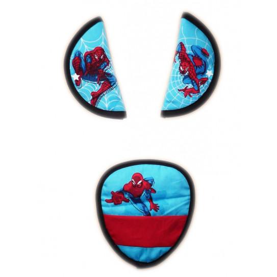 protettori cinghie di sicurezza SPIDERMAN