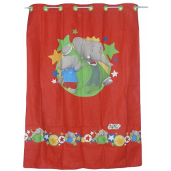 BABAR child curtain