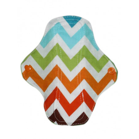 Washable panty liner CHEVRONS