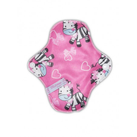 Protège-slip lavable PINK ZEBRA