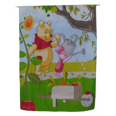 WINNIE AND PORCINET curtain
