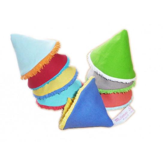 8 Pee Tip / STOP pee cones - RAINBOW -