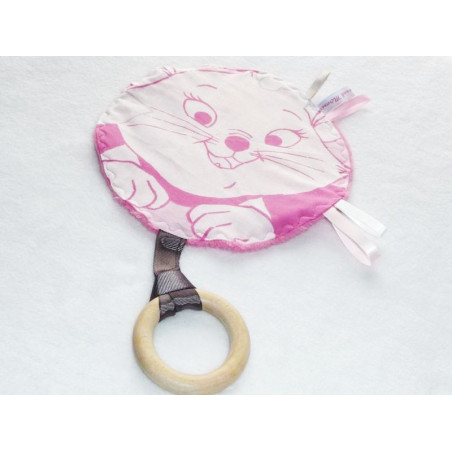 Doudou labels 2 in 1 - MARIE (ARISTOCHATS) -