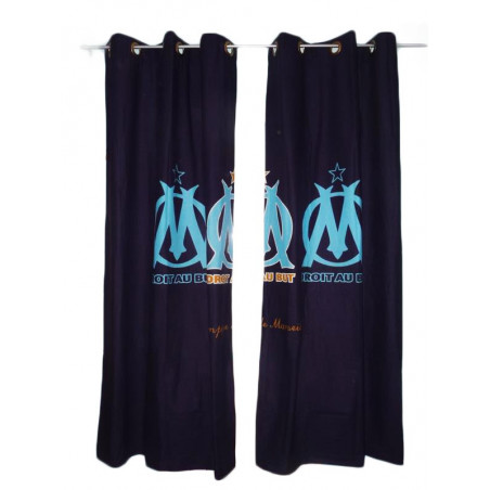 2 child curtains from OLYMPIC OF MARSEILLE (O.M.)