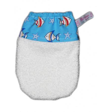 Gant de toilette enfant LES POISSONS (dès 3 ans)