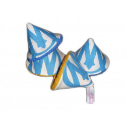4 pee teepees / STOP pee cones OLYMPIQUE MARSEILLE (O.M.)
