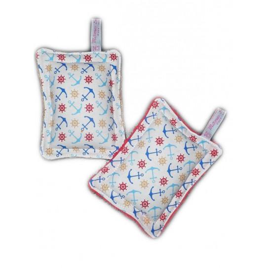 2 esponjas lavables cero desperdicio EL MAR
