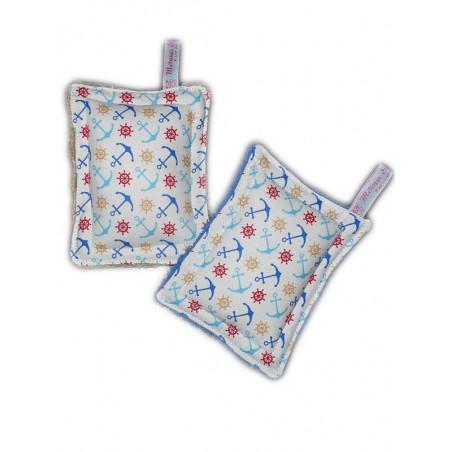 2 éponges lavables zéro déchet LA MER