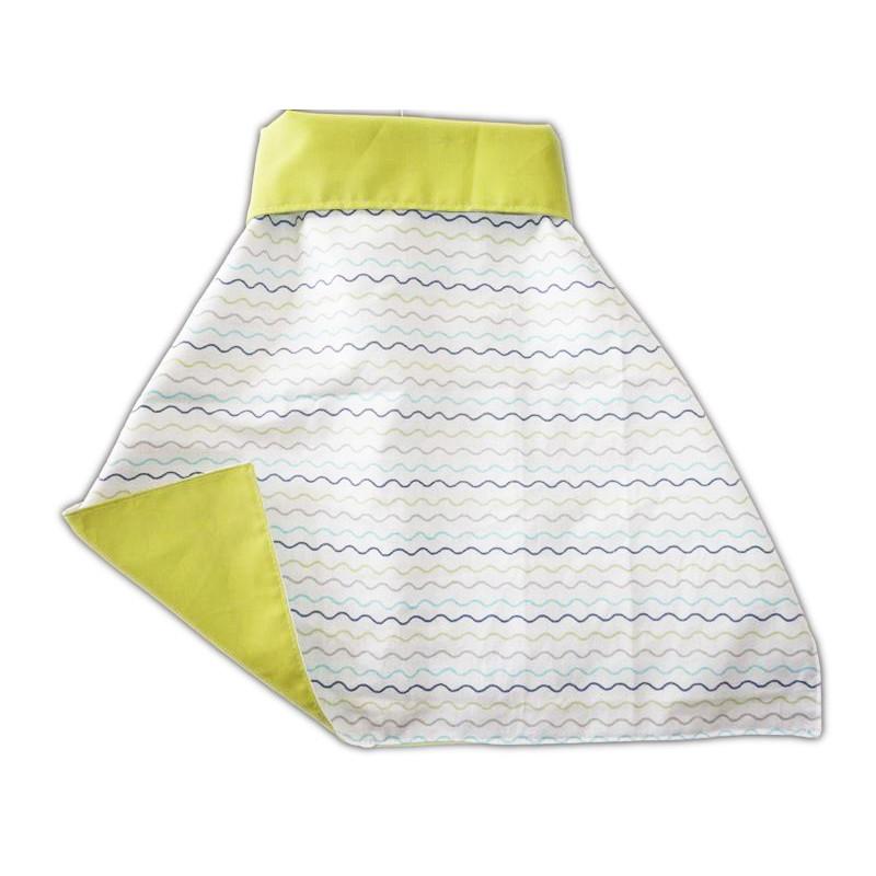 XXL Kantinen Handtuch mit Druckwellen