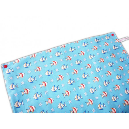 XXL canteen towel with pressure THE FISH