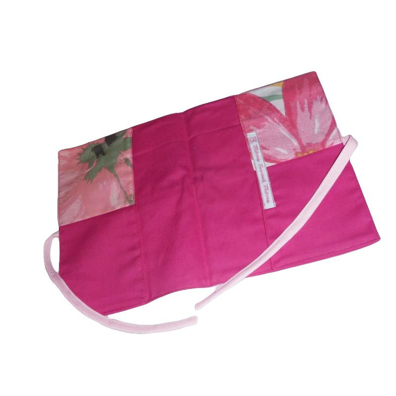 Ensemble complet b b 12 pi ces pink flower for Ensemble chambre bebe