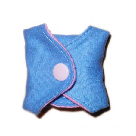 Salvaslip lavabile reversibile in flanella di cotone