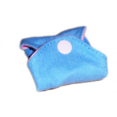 Salvaslip reversible lavable en franela de algodón