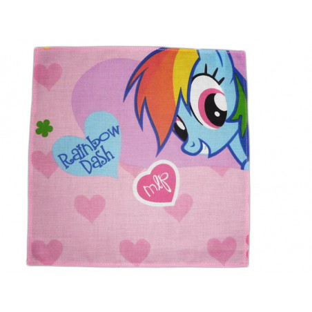 Pañuelo de tela lavable MY LITTLE PONY (Rainbow Dash)