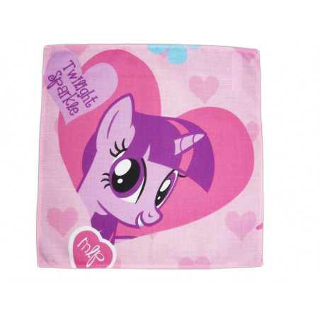 Washable cloth handkerchief MY LITTLE PONY (Twilight Sparkle)