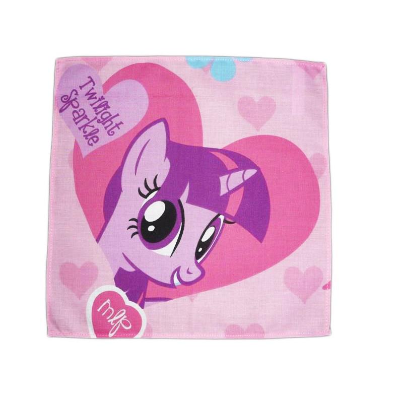 Washable cloth handkerchief MY LITTLE PONY (Twilight Sparkle)