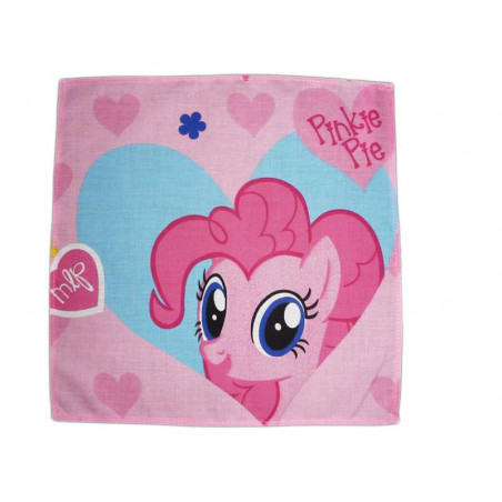 Washable cloth handkerchief MY LITTLE PONY (Pinkie Pie)
