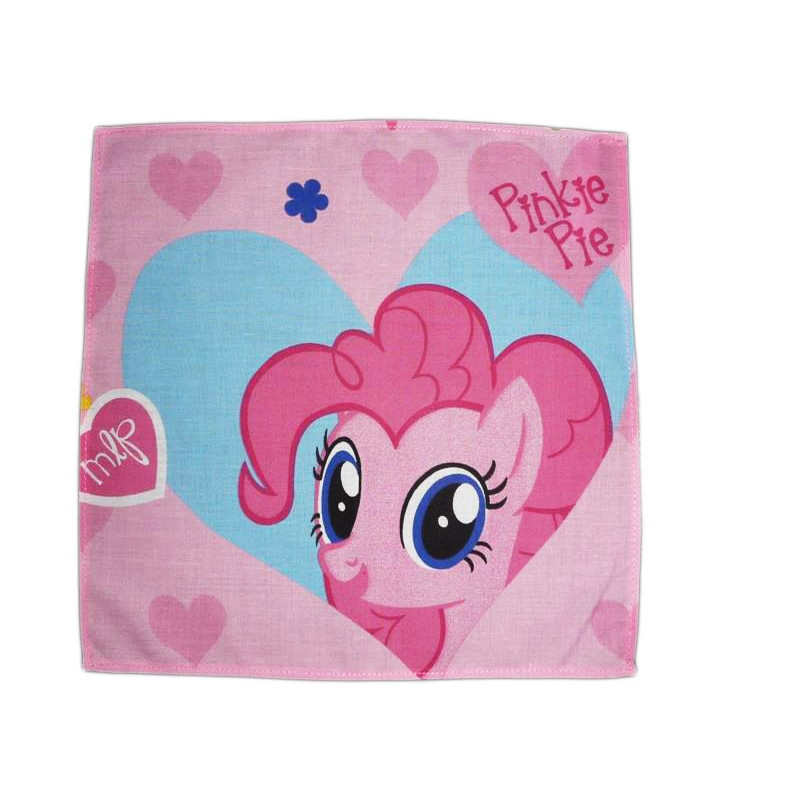 Washable cloth handkerchief MY LITTLE PONY (Pinkie Pie)