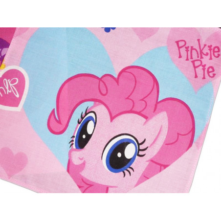 Fazzoletto lavabile in tessuto MY LITTLE PONY (Pinkie Pie)