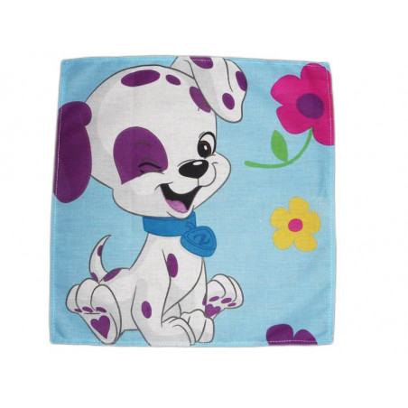 Washable cloth handkerchief ZHU ZHU PUPPIES