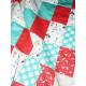 Cozy baby blanket RATON BOHO WASH