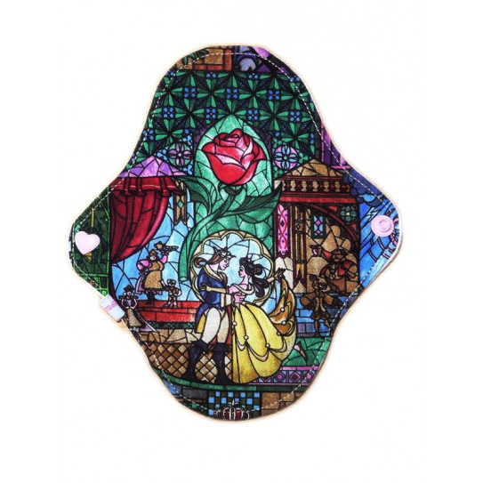 THE BEAUTY AND THE BEAST washable panty liner