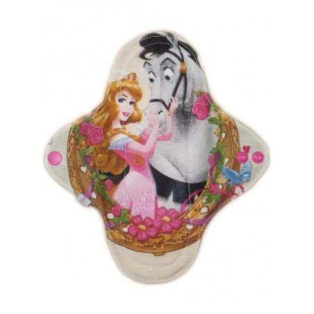 Waschbare Slipeinlagen Prinzessinnen (22 cm)