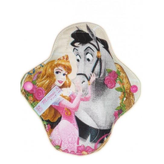 Prinzessinnen waschbare Slipeinlage (17 cm)